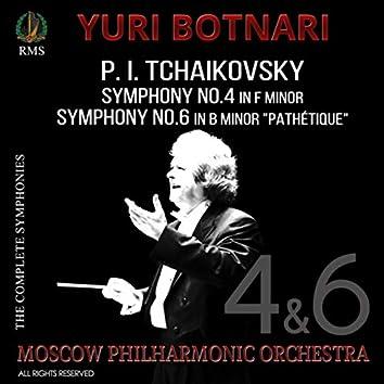 """P.I. Tchaikovsky: Symphonies Nos. 4 & 6 """"Pathétique"""""""