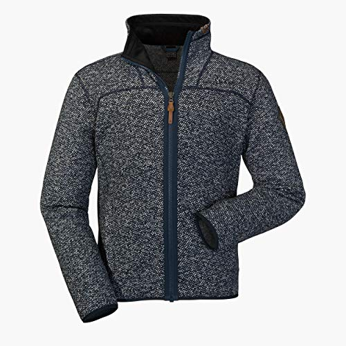 Schöffel Fleece Jacket Anchorage2, warme und leichte Fleecejacke mit höchstem Tragekomfort, atmungsaktive Outdoorjacke für Männer Herren, navy blazer, 54