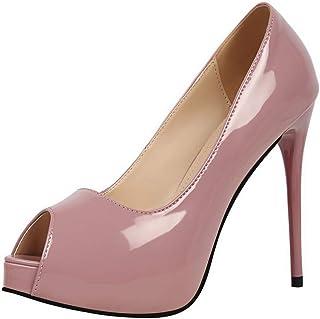 BalaMasa Womens APL12199 Pu Heeled Sandals