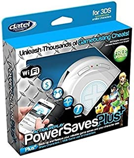 Datel DUS0397 Action Replay PowerSavesPlus+ for Nintendo 3DS (Wi-Fi)