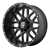XD Series by KMC Wheels XD820 Grenade Satin Black Wheel (20x10'/5x127mm, -24mm offset)