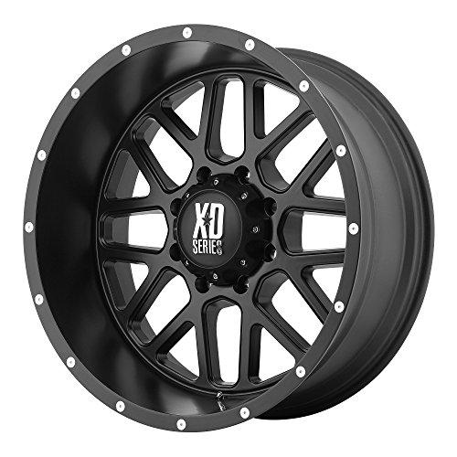 XD Series by KMC Wheels XD820 Grenade Satin Black Wheel (20x9'/6x135mm, +18mm offset)