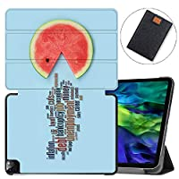 """MAITTAO Smart Cover for iPad Pro 11-inch Case 2020 2nd Gen, Leather Folio Stand Protective Shell with Auto Sleep/Wake Compatible with Apple iPad 11"""" 2020 A2228 / A2231,Cute Fresh Creative 17"""