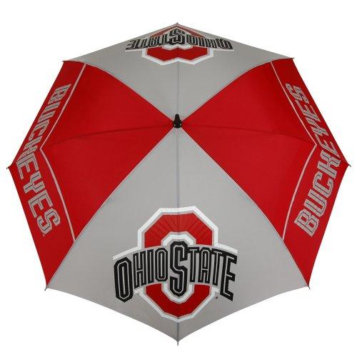 New NCAA Ohio State Buckeyes 62-Inch WindSheer Hybrid Umbrella