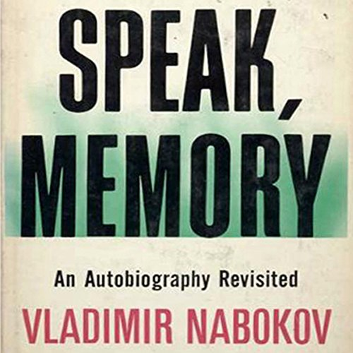 Speak Memory audiobook cover art