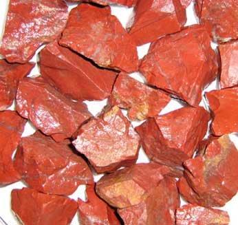 Edel-Depot Roter Jaspis 500g, Rohsteine Minerale (1 kg = 15,00 EUR)