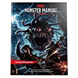 Dungeons and Dragons RPG: Monster Manual (Role Playing Game) with dice Bag