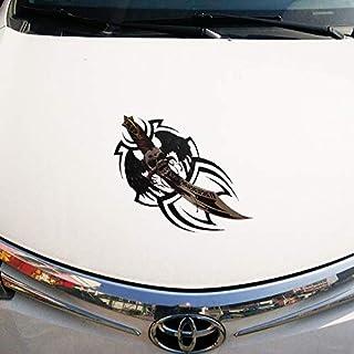 Akachafactory Autocollant Sticker Voiture Moto Mural Tuning Tribal Art Dauphin Biker B