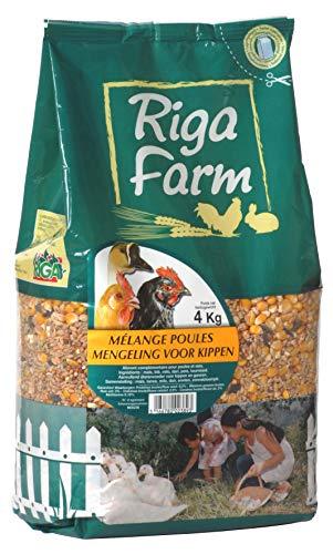 Riga - Miscela di pollame, 4 kg