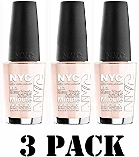 New York Color in a New York Color Minute Quick Dry Nail Polish - Prospect Park Bloom(3 Pack)