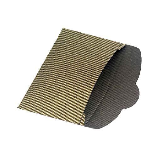 Schmuckverpackung aus besonders hochwertigem strukturierten Papier (10 Stück)
