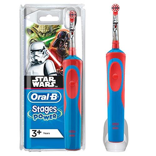 Oral-B D12Star Wars–spazzola dentale oscillante, colore: Blu E Rosso