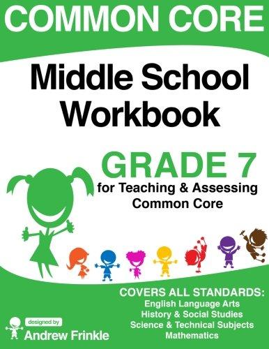 Common Core Middle School Workbook Grade 7 Middle School Common Core Workbooks Volume 2