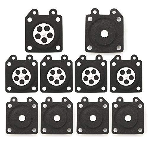 Motorrad-Komponenten 10pcs Vergaser Dichtungen Dosiermembrane Montage Sitz for Walbro 95-526, Top-Qualität