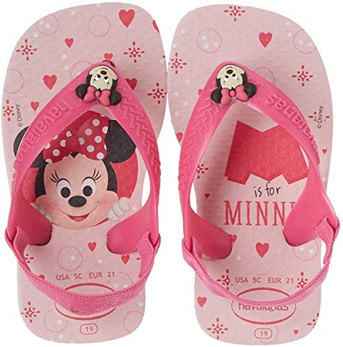 Havaianas Unisex Baby Disney Classic Ii Sandalen, Mehrfarbig (Crystal Rose 1141), 25/26 EU