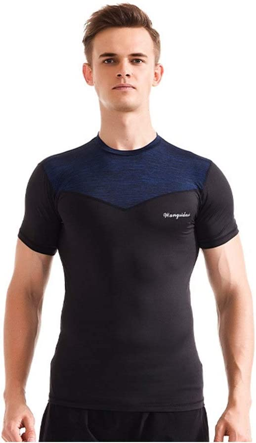 Madeinely Men's Gym Ranking TOP20 Top Mens Cool Short Sleeve T-Shirts Dry Indefinitely Crew
