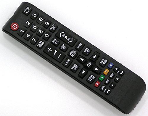 Ersatz Fernbedienung für Samsung TV Fernseher Remote Control / SA07 / UE32EH5007K UE32EH5030 UE32EH5030W UE32EH5040 UE32EH5040W UE32EH5050 UE32EH5050W UE32EH5057 UE32EH5057K UE32EH5200 UE32EH5200S UE32EH5200SXZG UE40EH5000 UE40EH5000K UE40EH5000W UE40EH5000WXZG UE40EH5005 UE40EH5005K UE40EH5007 UE40EH5007K UE40EH5030 UE40EH5030W UE40EH5040 UE40EH5040W UE40EH5050 UE40EH5050W UE40EH5200 UE40EH5200S UE46EH5000 UE46EH5000K