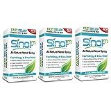 Sinol-M Allergy & Sinus Relief Spray 15 ml (Pack of 3)