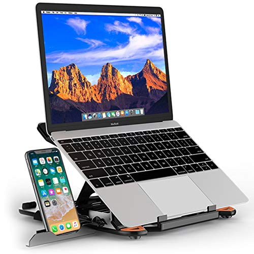 Broad Compatibility: BESIGN LS01 Laptop Stand is compatible with all laptops from 10''-15.6'', such as Apple MacBook 12 / 13, MacBook Air 13, MacBook Pro 13 / 15 / 2018 / 2017 / 2016, Lenovo ThinkPad, Dell Inspiron XPS, HP, ASUS, Chromebook, and othe...