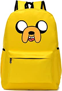 Mokago Adventure Time BMO Backpack Cosplay Canvas Shoulders Bag Student Bookbag