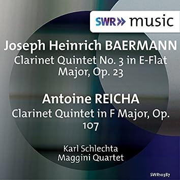 Baermann & Reicha: Clarinet Quintets