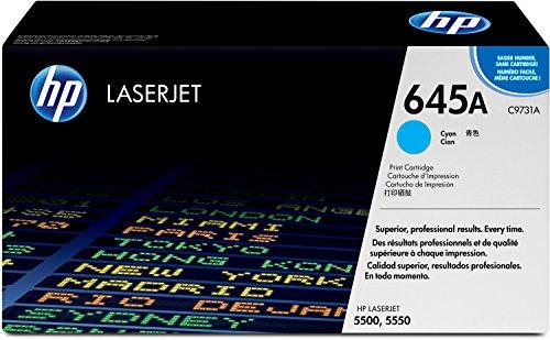 HP 645A (C9731A) Blau Original Toner für HP Color Laserjet 5500, HP Color Laserjet 5550