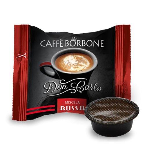 I0381 400 CAPSULE DON CARLO CAFFE' BORBONE MISCELA ROSSA compatibili A MODO MIO