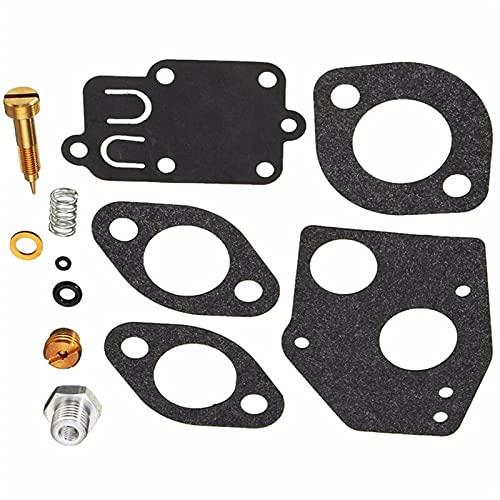 IJEOKDHDUW 12 PCS Carburatore Carb Repair Rebuild Kit for 494624 495606 Kit di Riparazione carburatore Auto Parts