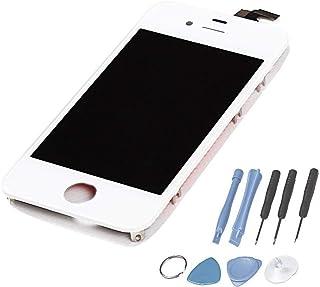 e198cbcabe7 LL TRADER Para iPhone 4S Blanco Completar Retina LCD Repuestos Pantalla  Táctil Con Digitalizador y Herramientas