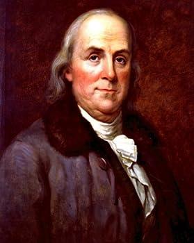 New 8x10 Photo  Portrait of U.S Founding Father and Statesman Benjamin Franklin