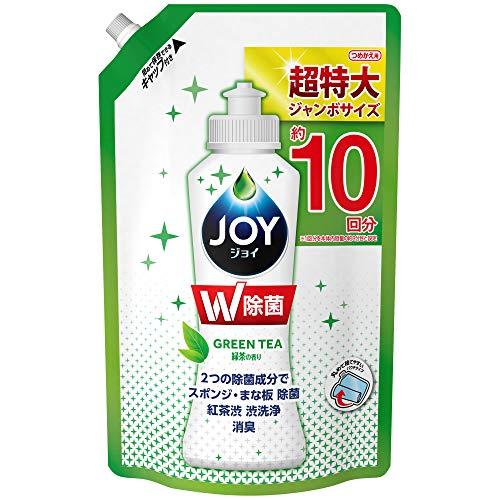 除菌ジョイ コンパクト 食器用洗剤 緑茶の香り 詰め替え ジャンボ 1330mL