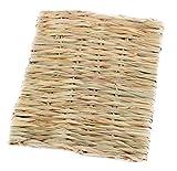 Natural lapin Hutch intérieure matelas de paille Rectangl