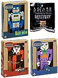 BatSeries Animated {Batman} Mystery Pocket Pop! Colgador de llavero con figura de Batman clásica + e...