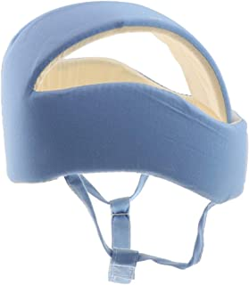 Dolity Baby Infant Toddler No Bumps Safety Helmet Head Cushion Bumper Bonnet - Blue, as described