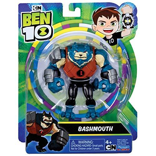 Ben 10 BEN47A10 - Figura de acción, Malvado Extranjero Bashmouth