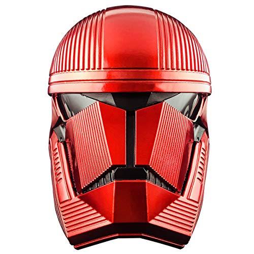 yacn Sith Soldado Casco Rojo Trooper Completa máscara de la