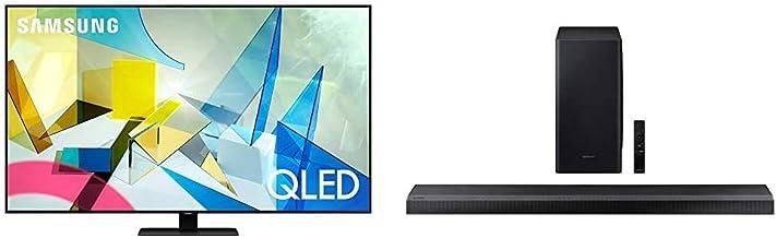 $1895 » SAMSUNG 55-inch Class QLED Q80T Series - 4K UHD Direct Full Array 12X Quantum HDR 12X Smart TV with Alexa Built-in (QN55Q80TAFXZA, 2020 Model) with Samsung HW-Q800T/ZA Soundbar