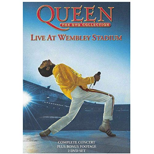 WYBSA Live At Wembley 86 Queen ¡Los Carteles e Impresiones artísticos HD de Calidad HD están Impresos en Lienzo para la decoración de la Pared del Dormitorio!-24x32 Pulgadas sin Marco 1 Uds.