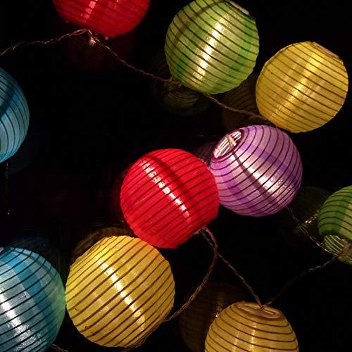 Gekleurde lichten van licht licht van de Festival-lantaarn uit de lentebatterij van de lantaarn Del Festival LED uit de lantaarn Del doek.