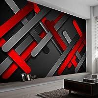 HGFHGD 3D壁紙壁紙モダンアブストラクト幾何学的絵画ラインクリエイティブホテルベッドルーム背景画像ウォールステッカー