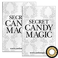 Secret Candymagic monthly シークレット キャンディー マジック マンスリー 【カラー】NO.9ブラウン 【PWR】-4.75 1枚入 2箱