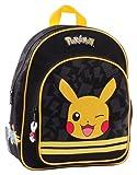 Pokemon - Mochila infantil  negro negro, amarillo