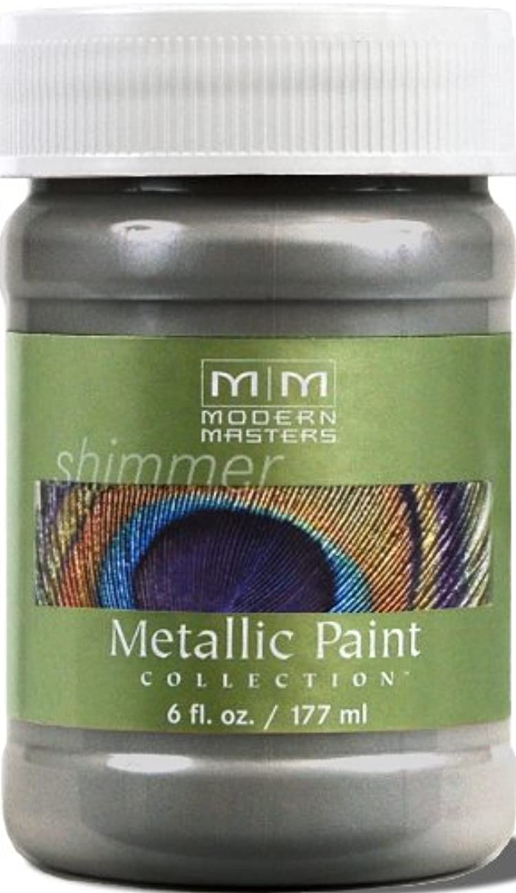 Modern Masters ME209-06 Metallic Pewter, 6-Ounce