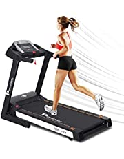 PowerMax Fitness TDA-111 (4HP Peak) Motorized Treadmill with Free Installation, Home Use & Automatic Incline, black