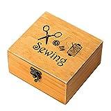 Rossenice - Costurero de madera para manualidades, costura y artesanía