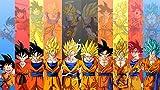 Desconocido Goku Super Poster Todas SU Fases Goku Ultra Instinct...