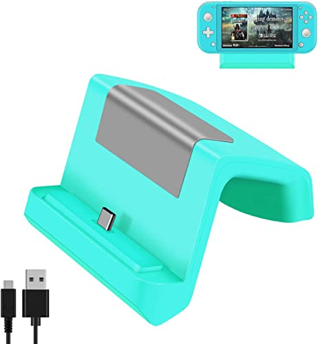 Switch Dock, Switch Lite Dock, Portable Charging Stand for Nintendo Switch,Compact Switch to HDMI Adapter, Replacemen...