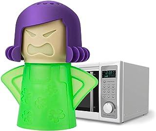 Chilly Mama Fridge Deodoriser Angry Mama Fridge Cleaner Freezer Odor Freshener Remover, Just Add Baking Soda- Blue Mama (G...