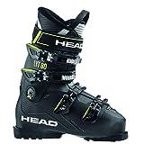 HEAD LYT 80 - Zapatillas de esquí para hombre (talla 39), color negro
