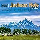 2021 Jackson Hole and the Tetons Wall Calendar